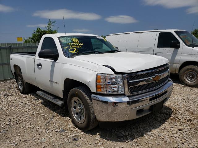Salvage cars for sale from Copart Kansas City, KS: 2013 Chevrolet Silverado