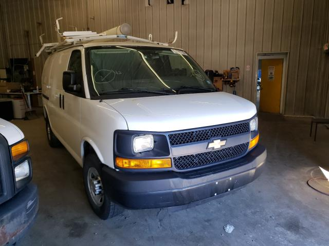 Salvage trucks for sale at Candia, NH auction: 2013 Chevrolet Express G2