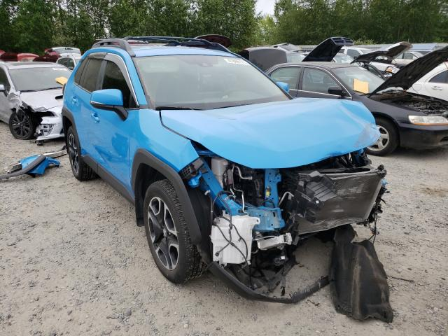 Salvage cars for sale from Copart Arlington, WA: 2019 Toyota Rav4 Adven