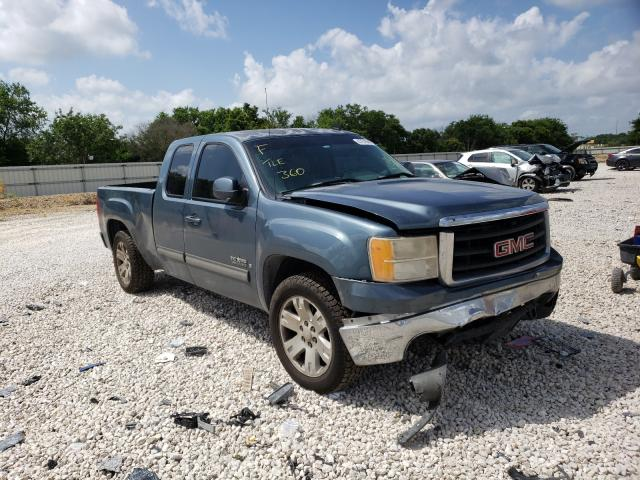 Salvage cars for sale from Copart New Braunfels, TX: 2008 GMC Sierra C15