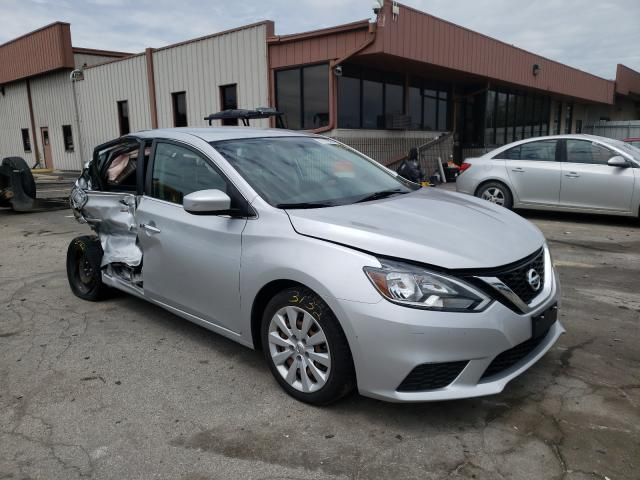 Salvage cars for sale from Copart Fort Wayne, IN: 2016 Nissan Sentra
