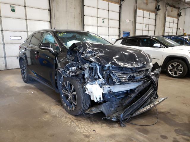 Lexus RX350 salvage cars for sale: 2017 Lexus RX350