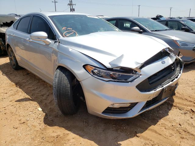 Ford Fusion salvage cars for sale: 2018 Ford Fusion