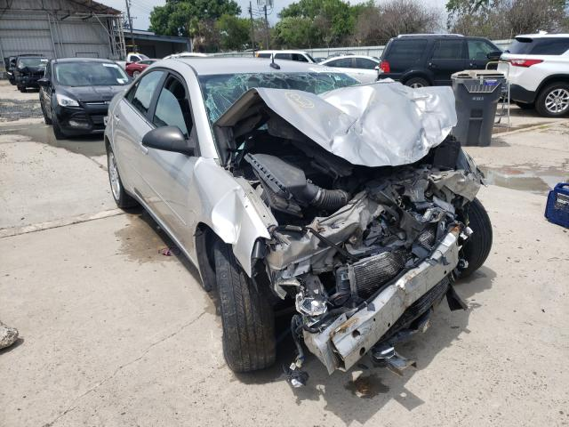 Salvage cars for sale from Copart Corpus Christi, TX: 2008 Pontiac G6 Base
