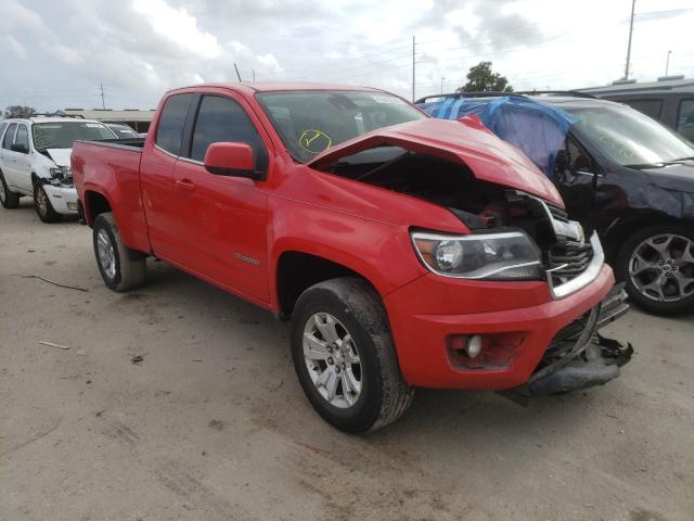 Salvage cars for sale from Copart Riverview, FL: 2016 Chevrolet Colorado L