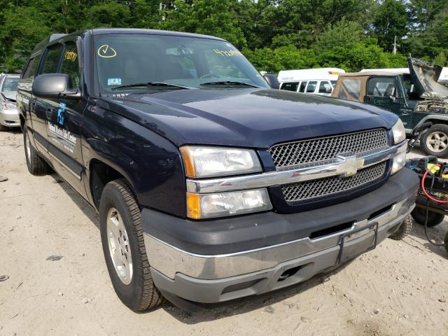 Salvage cars for sale from Copart Mendon, MA: 2005 Chevrolet Silverado
