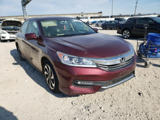 Salvage cars for sale from Copart Columbus, OH: 2017 Honda Accord EX