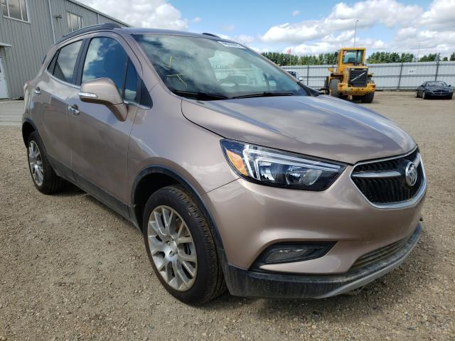Buick salvage cars for sale: 2018 Buick Encore Sport