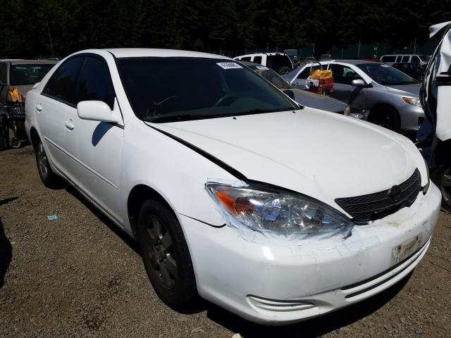 Vehiculos salvage en venta de Copart Graham, WA: 2002 Toyota Camry LE