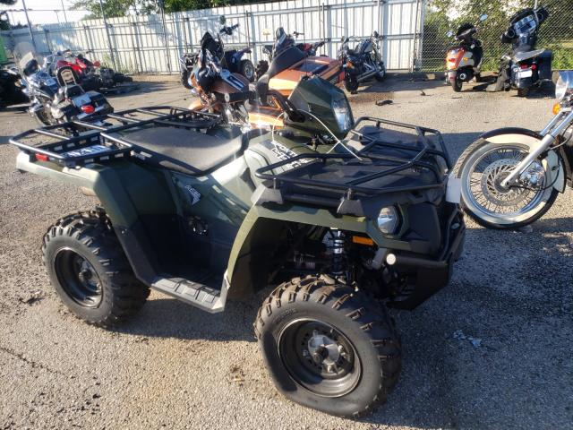 Salvage motorcycles for sale at Moraine, OH auction: 2020 Polaris Sportsman