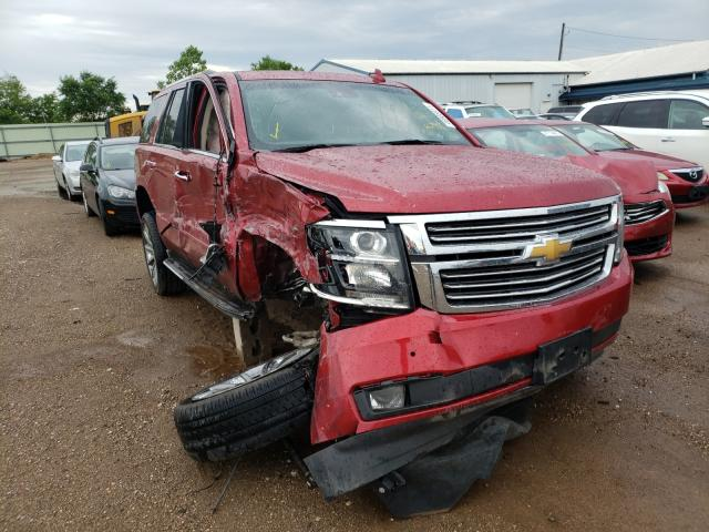 Salvage cars for sale from Copart Pekin, IL: 2015 Chevrolet Tahoe K150