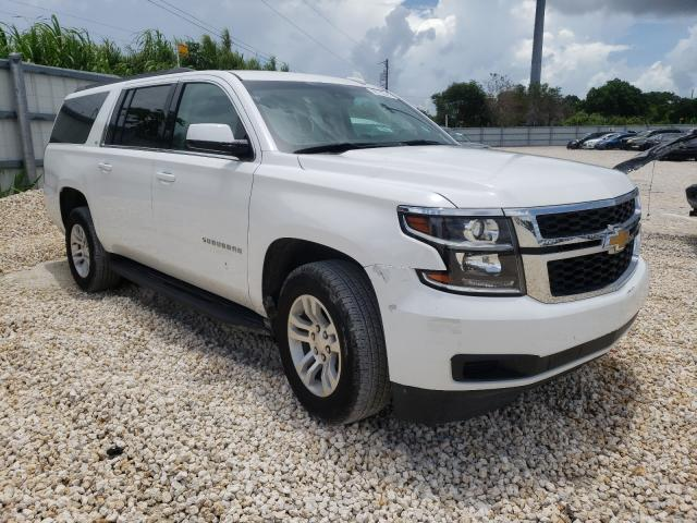 Salvage cars for sale at Homestead, FL auction: 2020 Chevrolet Suburban C