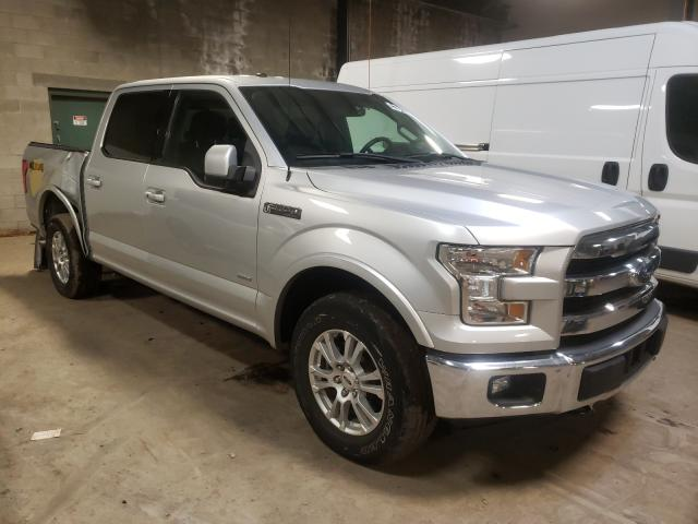 Salvage cars for sale from Copart Chalfont, PA: 2017 Ford F150 Super