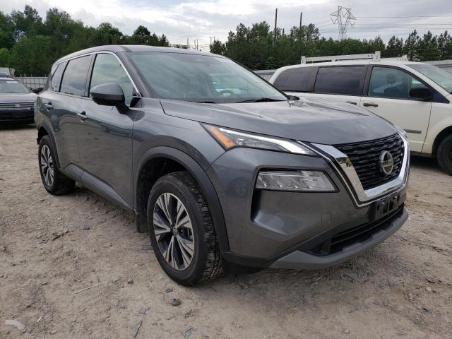 Salvage cars for sale from Copart Charles City, VA: 2021 Nissan Rogue SV