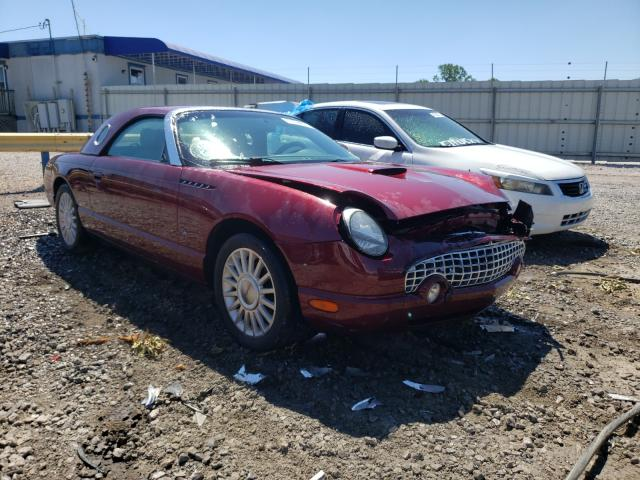 Ford Thunderbird salvage cars for sale: 2004 Ford Thunderbird