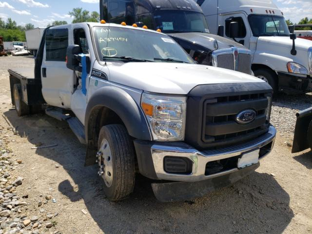 Salvage cars for sale from Copart Kansas City, KS: 2016 Ford F450 Super