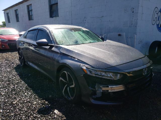 Vehiculos salvage en venta de Copart Hillsborough, NJ: 2018 Honda Accord Sport