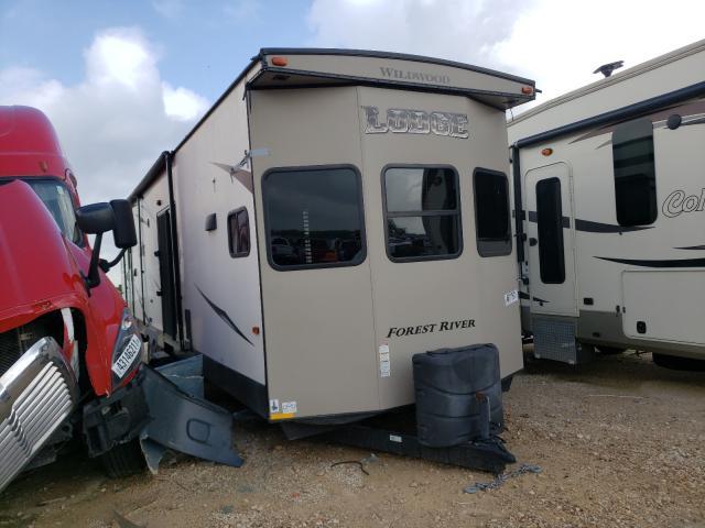 Salvage trucks for sale at San Antonio, TX auction: 2017 Wldw WD Travel