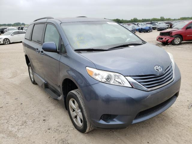 Salvage cars for sale from Copart Temple, TX: 2017 Toyota Sienna LE