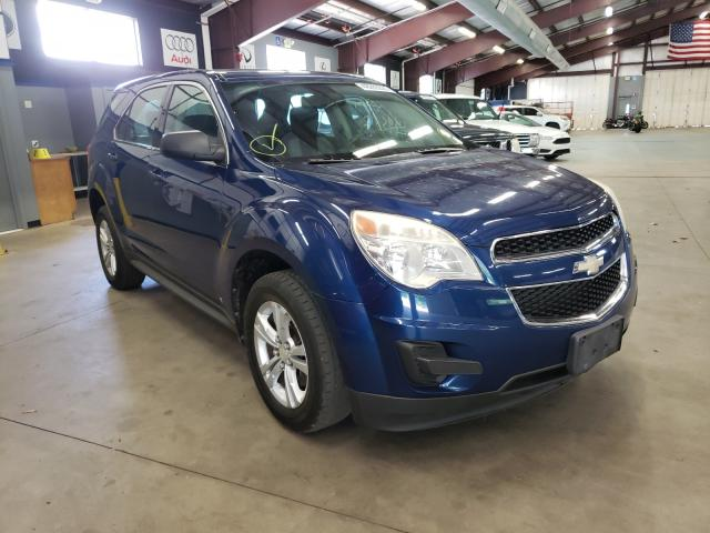 Salvage cars for sale from Copart East Granby, CT: 2010 Chevrolet Equinox LS