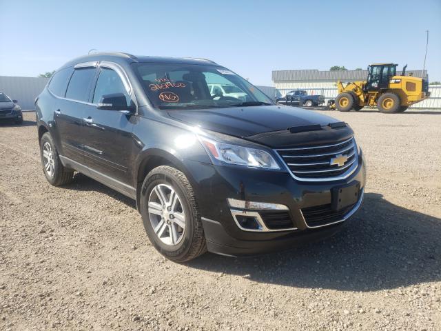 Vehiculos salvage en venta de Copart Bismarck, ND: 2015 Chevrolet Traverse L