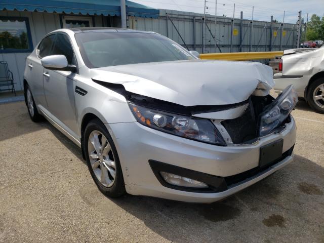 Salvage cars for sale from Copart Pekin, IL: 2012 KIA Optima EX