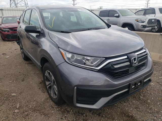 Salvage cars for sale from Copart Elgin, IL: 2020 Honda CR-V LX