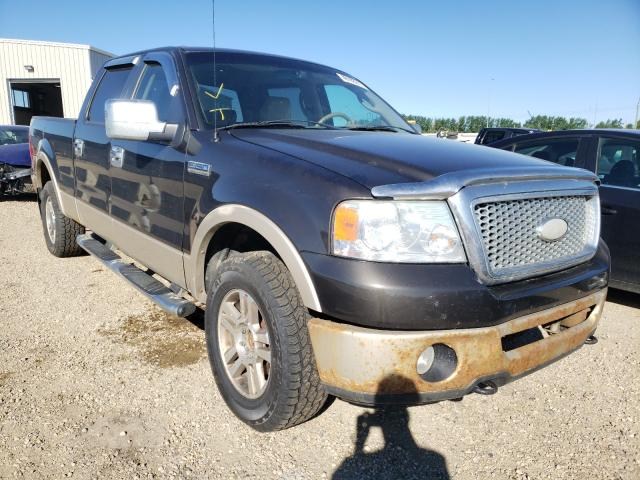 Salvage cars for sale from Copart Nisku, AB: 2007 Ford F150 Super