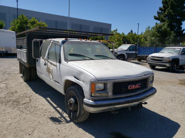 Salvage cars for sale from Copart Hayward, CA: 2000 GMC Sierra C35