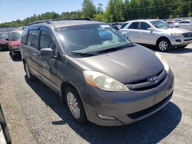 Salvage cars for sale from Copart Fredericksburg, VA: 2010 Toyota Sienna XLE