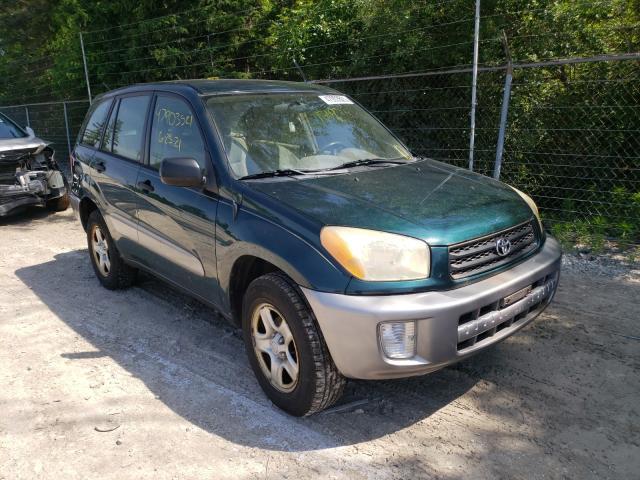 Vehiculos salvage en venta de Copart Northfield, OH: 2003 Toyota Rav4