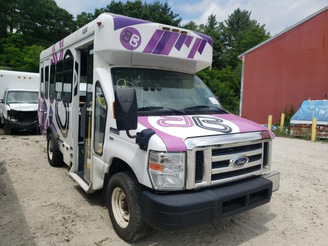 Salvage cars for sale from Copart Mendon, MA: 2014 Ford Econoline
