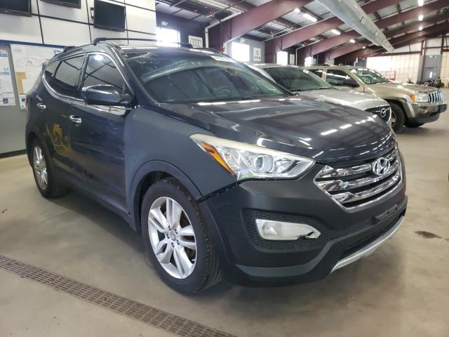 Salvage cars for sale from Copart East Granby, CT: 2013 Hyundai Santa FE S