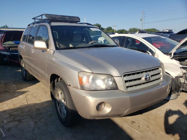 Vehiculos salvage en venta de Copart Lebanon, TN: 2006 Toyota Highlander