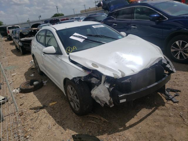 Salvage cars for sale from Copart Mercedes, TX: 2018 Hyundai Elantra SE