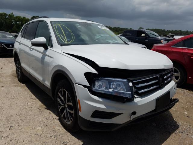 Salvage cars for sale from Copart Houston, TX: 2020 Volkswagen Tiguan SE