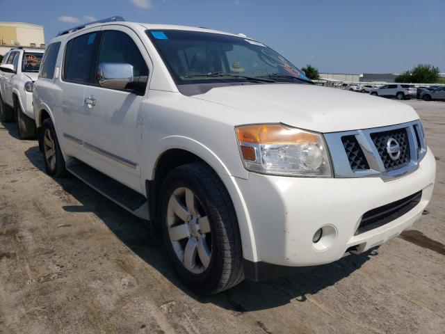 Salvage cars for sale from Copart Tulsa, OK: 2010 Nissan Armada SE