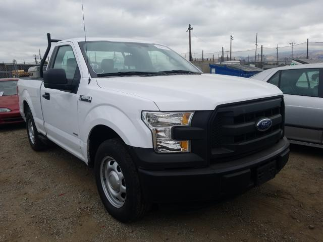 Salvage cars for sale from Copart San Martin, CA: 2016 Ford F150