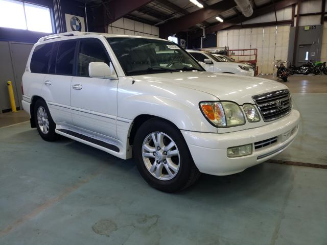 Salvage cars for sale from Copart East Granby, CT: 2004 Lexus LX 470