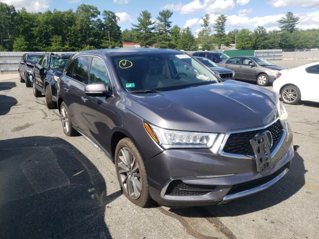 Vehiculos salvage en venta de Copart Exeter, RI: 2017 Acura MDX Techno
