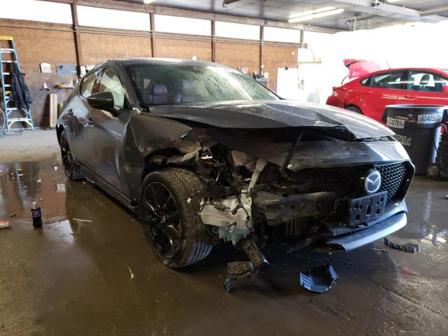 Salvage cars for sale from Copart Ebensburg, PA: 2020 Mazda 3 Premium