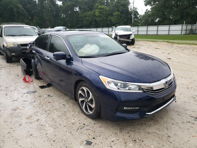 Salvage cars for sale from Copart Ocala, FL: 2016 Honda Accord EXL