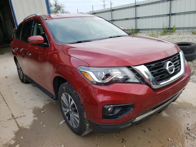 Salvage cars for sale from Copart Appleton, WI: 2017 Nissan Pathfinder