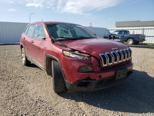 Vehiculos salvage en venta de Copart Bismarck, ND: 2014 Jeep Cherokee S