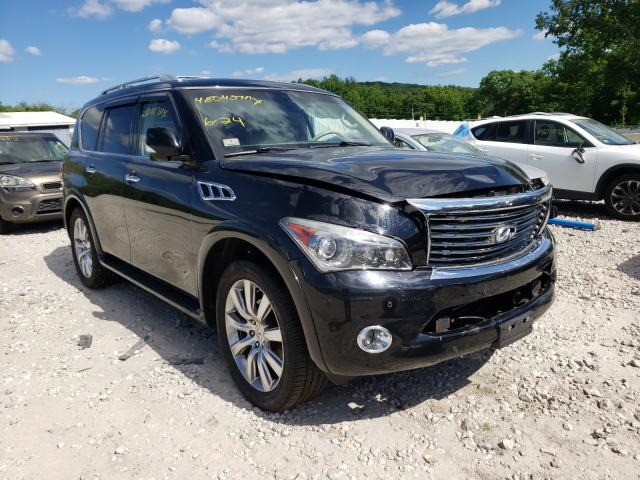 Salvage cars for sale from Copart West Warren, MA: 2012 Infiniti QX56