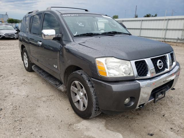 Nissan Armada salvage cars for sale: 2006 Nissan Armada