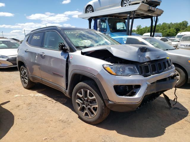 Salvage cars for sale from Copart Hillsborough, NJ: 2020 Jeep Compass TR
