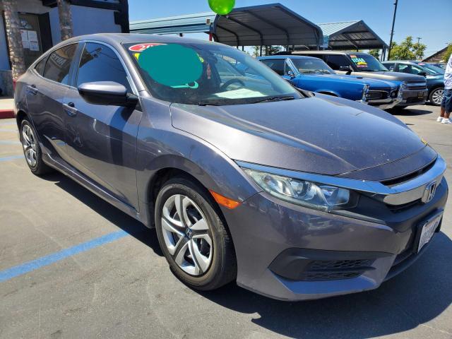 Honda Vehiculos salvage en venta: 2018 Honda Civic LX