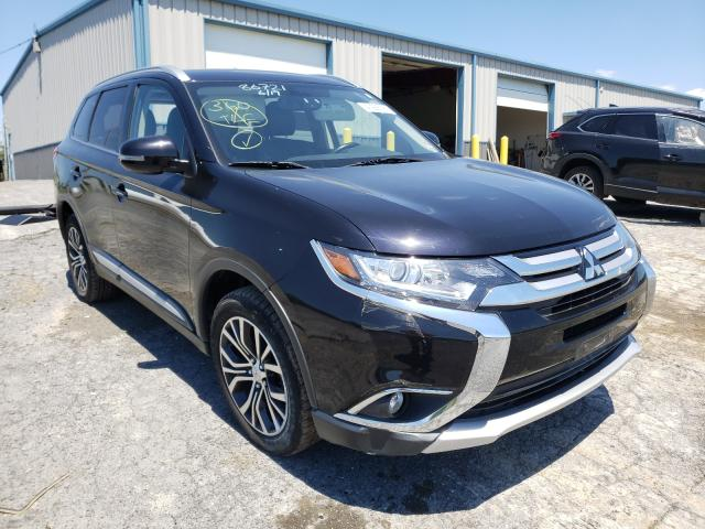 Salvage cars for sale from Copart Chambersburg, PA: 2017 Mitsubishi Outlander