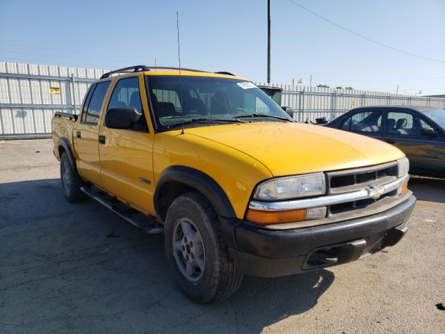 Salvage trucks for sale at Lexington, KY auction: 2003 Chevrolet S Truck S1